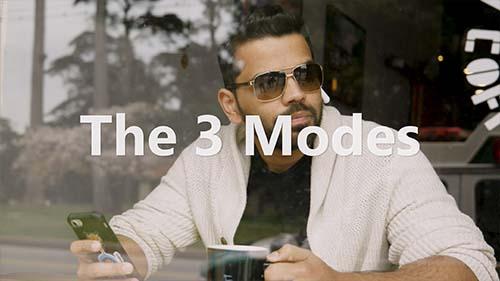 3 mody pouziti